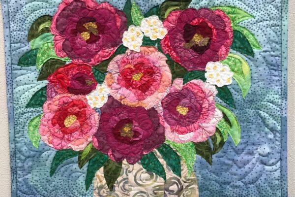 Rose in Vase Table $275